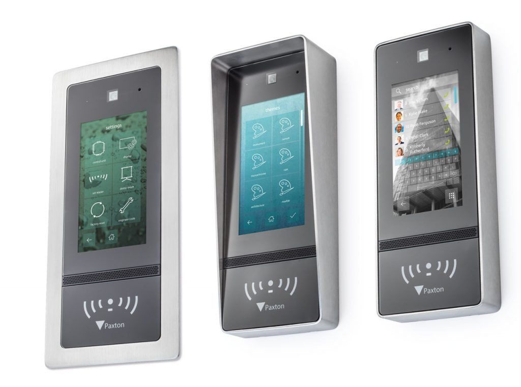 paxton access control options